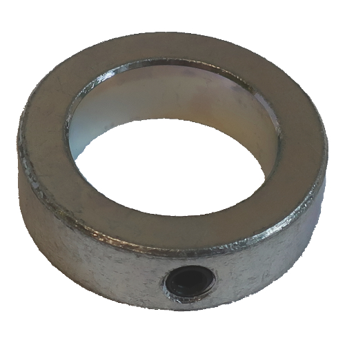 123-016 6 inch belt sander idler pulley locking collar, upper pulley