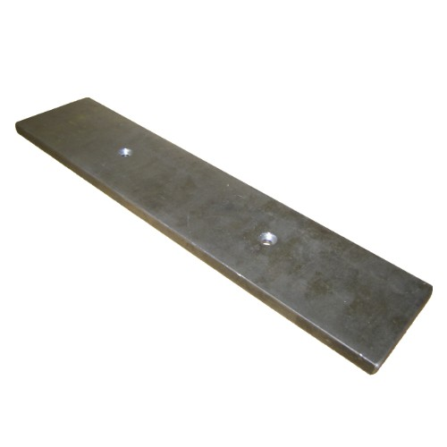 563-014 S460 4 x 60 inch belt sander reversible replacement platen, 4 x 60 inch, reversible replacement platen , belt sander