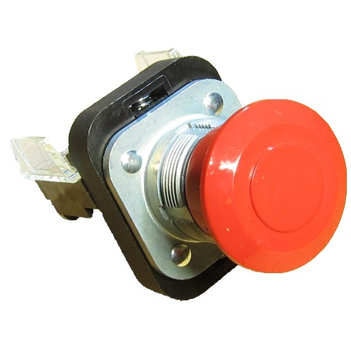 710-204 push-pull button, industrial, wet chop saw, chop saw, chop saw, saw,710-204 red push - pull button