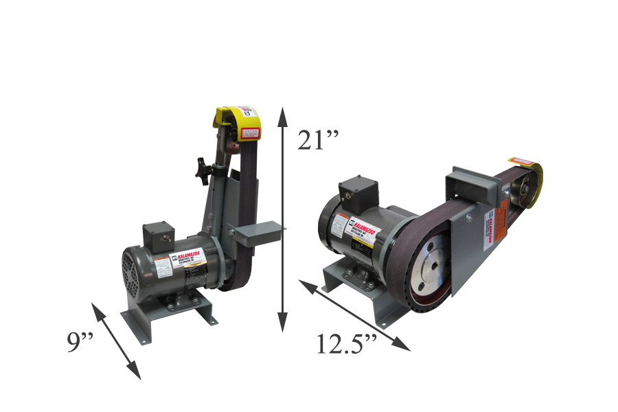 2 x 48 Inch Multi Position Belt Grinder, multi position belt grinder, grinding applications, belt grinder, various sanding and grinding applications, 2 x 48 industrial belt grinder, Kalamazoo Industries BG248 2 x 48, 48 industrial belt grinder, THE BEEFY KALAMAZOO BG248 2 X 48 INCH BELT GRINDER