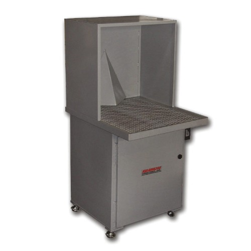 DCV-8 heavy duty down draft table dust collector