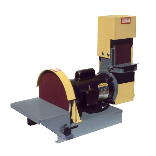 "DS10-4S 4"" combination sander with 10"" disc"