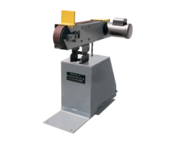 KS490V 4 X 90 INCH ABRASIVE BELT GRINDER WITH VACUUM BASE (2)