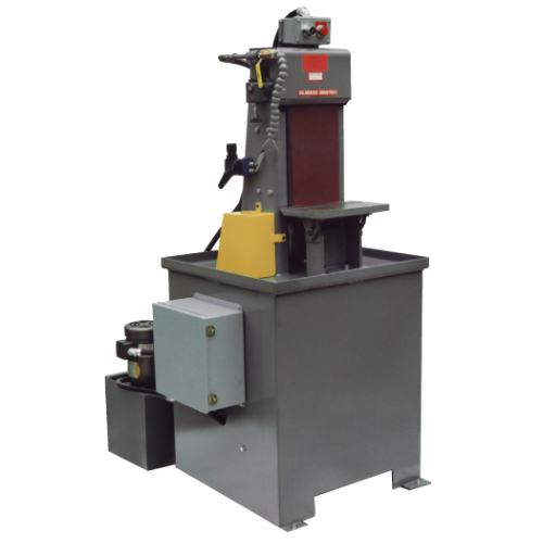 belt sander, S8D 8 x 60 inch vertical dry belt sander, industrial, sander, belt, deburr, tool, equipment