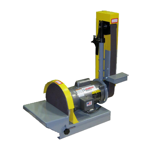 DS10-2M 2 x 48 inch and 10 inch belt and disc combination sander, belt sander disc sander, combination sander, 48 inch belt, 10 inch disc sander, disc sander, woodworking shops, metalworking shops, combination sander, metalworking equipment