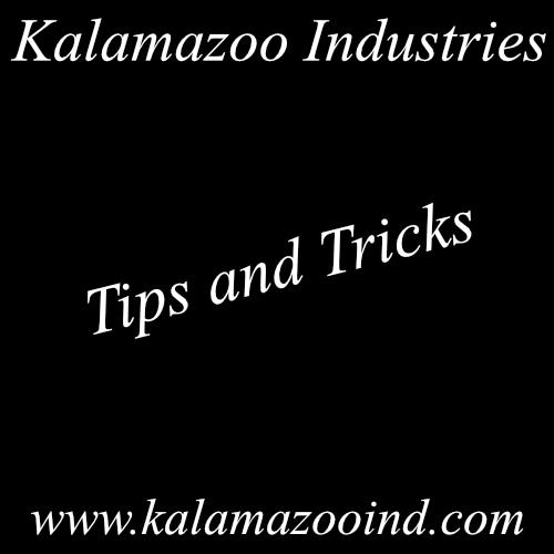 Useful Tips and Tricks For Your Kalamazoo Industries Industrial Equipment, maintaining
